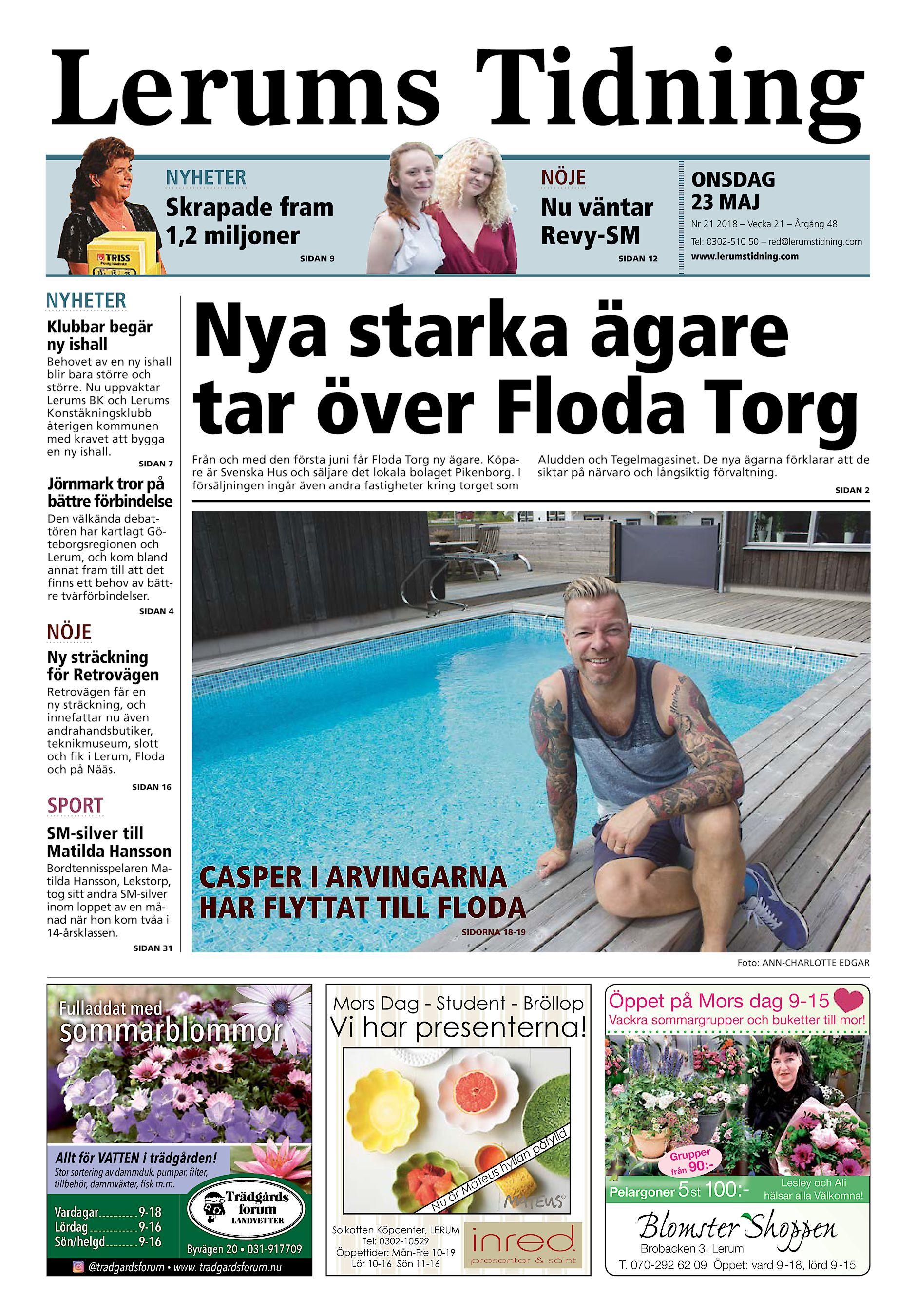 Lerums Tidning NYHETER NÖJE Skrapade fram 1 11563a4448495