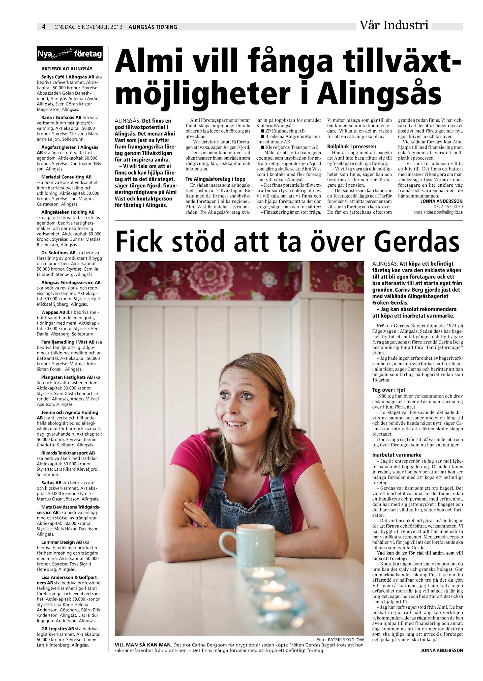 Alla kategorier Sverige Vstra Gtalands ln