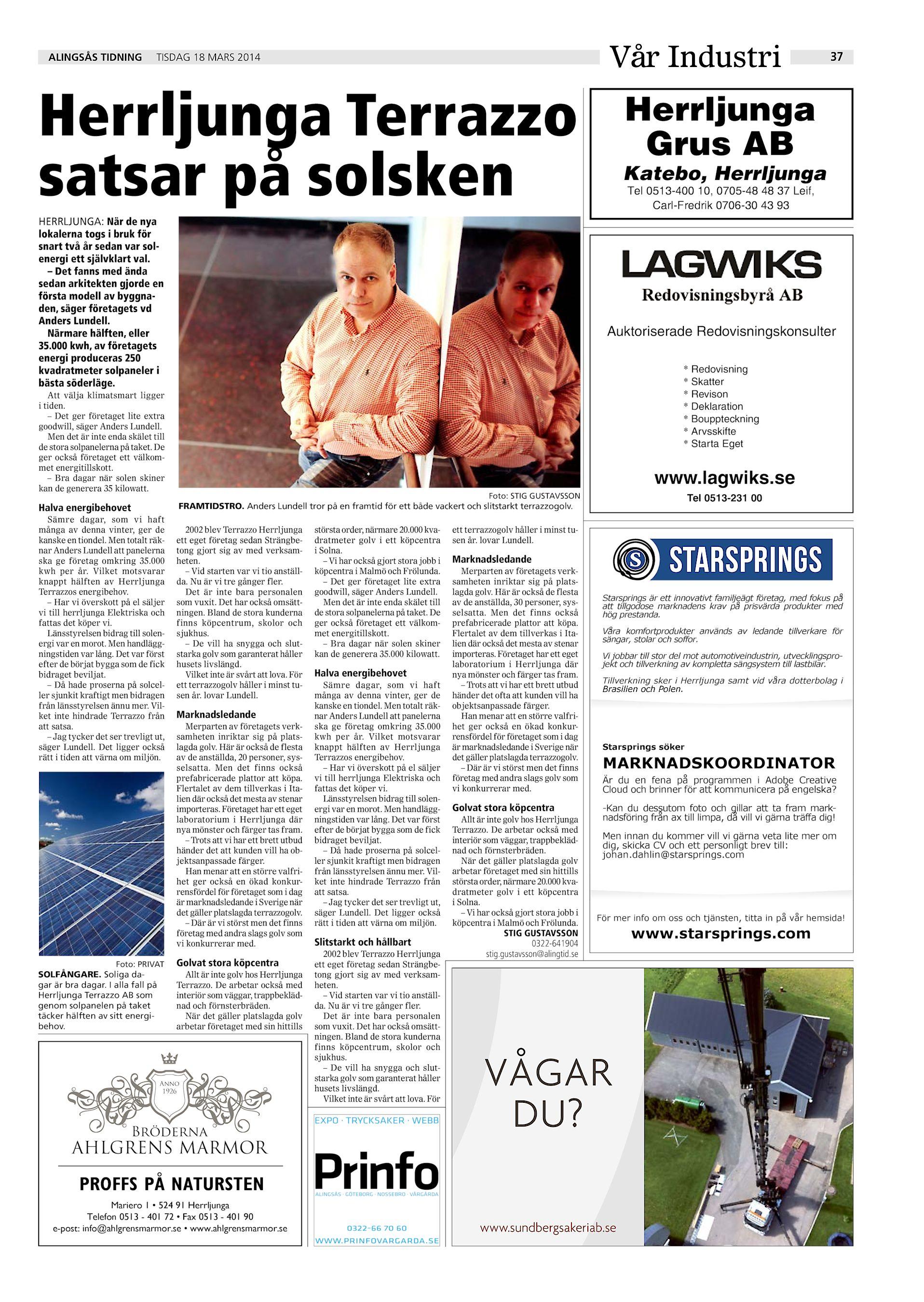 Alfred Gustavsson, Gripsbergsvgen 5, Sollebrunn | satisfaction-survey.net